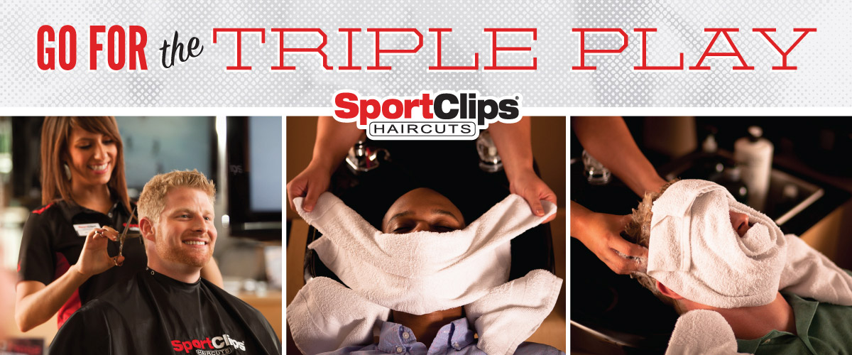 The Sport Clips Haircuts of Chili's Square - Green Bay Triple Play